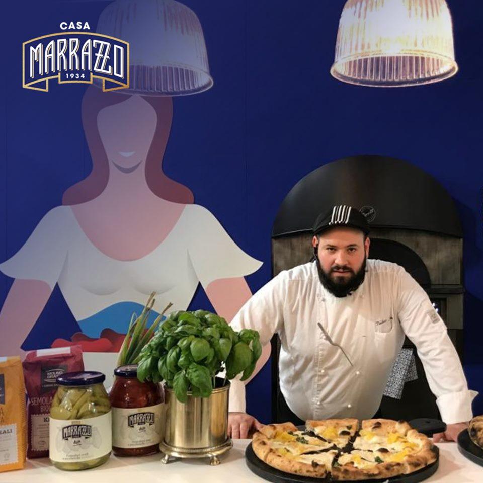 Valerio Torre a TuttoFood allo stand di Casa Marrazzo