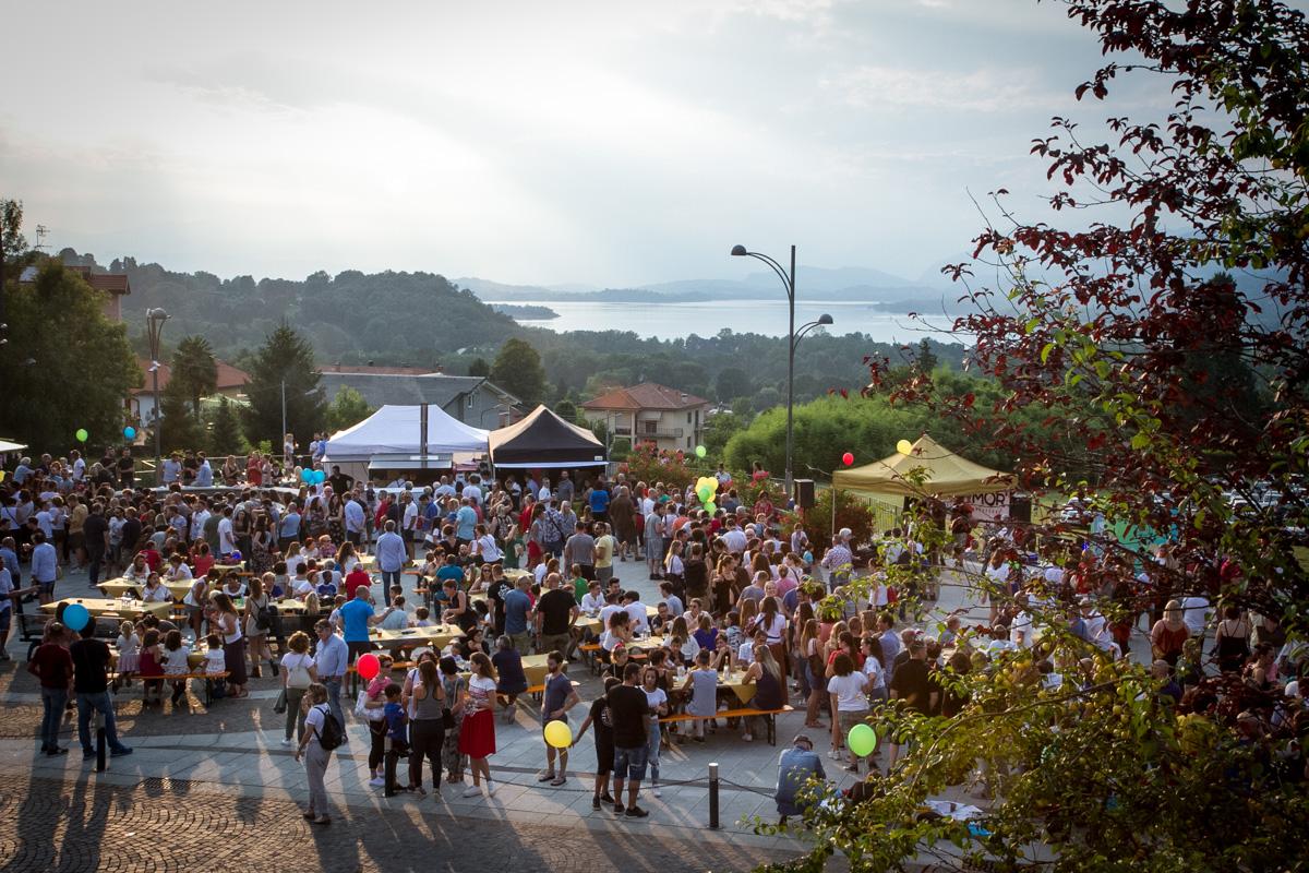Il belvedere di Azzate fa da cornice all'evento Pizza & Musica con Valerio Torre